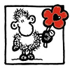 sheepy wants to give you a flower