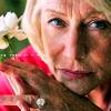 Helen loves flowers