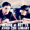sam and dean support your local library