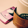 Starbucks/Pink Razr