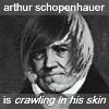 emo hair schopenhauer