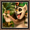 King Julien - Huzzah!  Picture Frame