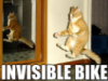 Invisible Bike - exercise