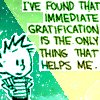 calvin immediate gratification