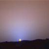 Martin Tithonium: Martian Sunset