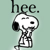 Valderys: Snoopy - hee