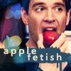 Apple Slut: Tony - apple fetish