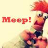 I'm Ms. Heat Miser...: Muppets: Beaker *meep*