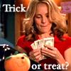 Anya trick or treat
