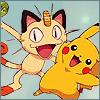 ♥ Meowth x Pikachu ♥