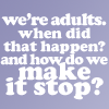 Text - Become Adults