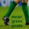 kisuuna: mean green goalie