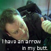 KarenDreamerLady: McKay Arrow in Butt by belisse