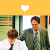 Jim and Dwight: awwwww