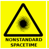 Warning Nonstandard Spacetime