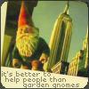 amélie: people > gnomes