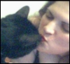 kitties (me and pancho-smooch), me and pancho (smooch)