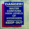 water contains hydrogen