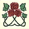Rupert's three roses