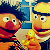 The Gauche in the Machine: Bert & Ernie with rubber duck