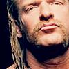Triple H  - - - > not happy
