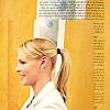 ponytail: smile