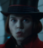 Willy Wonka, Johnny Depp, shock, humor, silly