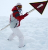 сноубордистег