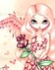 fairy pic pink rose