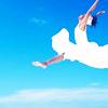 cheerful leap