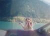 Осень, хорошо.....!, горное озеро