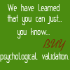 phychological validation