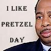 Amanda: pretzel day!