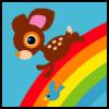 the word nazi: rainbow deery lou