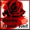 Blood Red Icon, Roses