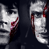 dean and sam bloody