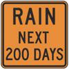 Rain Next 200 Days