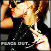 Peace out!