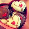 Janet says...: chocolate hearts