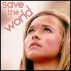 Rachel M Brown: Heroes: Save the world