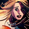 Heroes // Claire - comic book painting