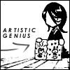 Bleach : Rukia - Artistic genius