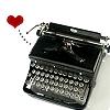 Typewriter loves you