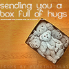 Gelsey: Text - box of hugs