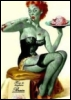 Zombie Pin-up Girl