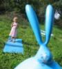 Люся и заяц