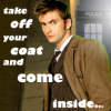 take off your coat