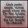 gods prefer