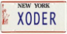 Old License (Liberty Plate)
