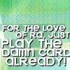 YGO_Play Damned Card